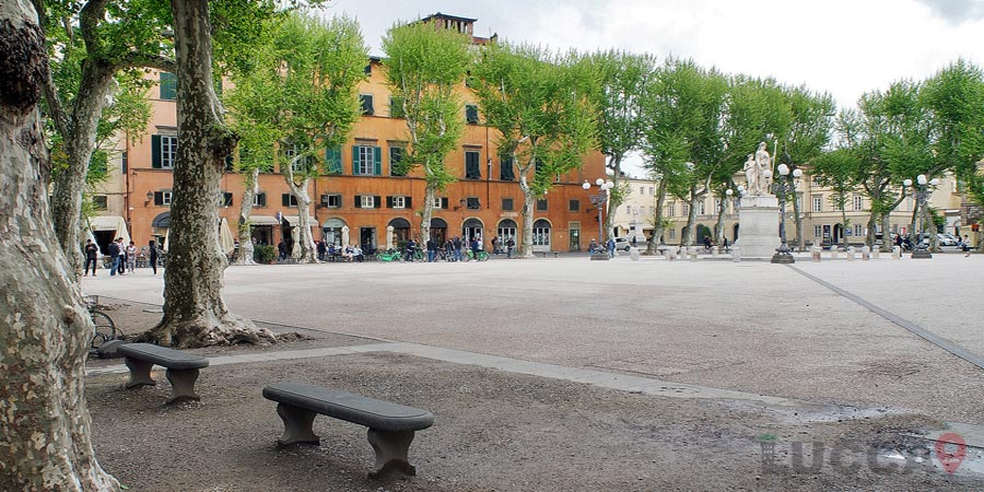Piazza Napoleone or Piazza Grande And The Ducal Palace